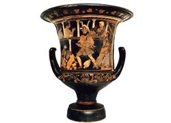 Calyx Krater Madness of Herakles