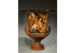 Calyx Krater Dionysos Riding a Panther