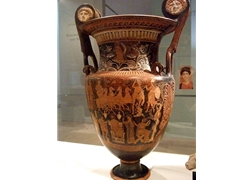 Volute Krater Greek South Italy Apulia 4th Century BCE