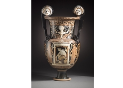 Volute Krater Woman in a Naiskos