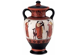 Neck Amphora with Lid