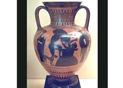 Neck Amphora Heracles