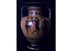 Neck Amphora Scene from The Judgment of Paris