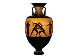 Panathenaic Amphora Pankration