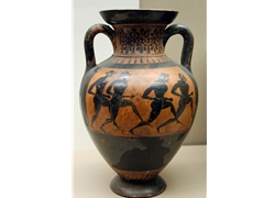 Panathenaic Amphora Runners South Italy