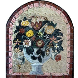 Flowers Mosaic - MF010