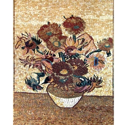 Flowers Mosaic - MF073