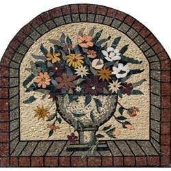 Flowers Mosaic- MF134