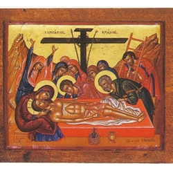 The Lamentation at the Tomb