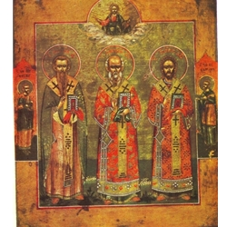 The Saints, Basil the Great, Gregory of Nazarius, John Chrysostom