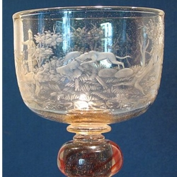Collectable Engraved Glass